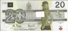 2017 Canada $20 FANTASY GIRL SEXY * Canada 150 Design Note - POLYMER - Nice Note