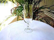 Set of 4 Import Assoc. Bohemia Crystal Claudia Champagne Flutes
