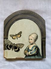 """Collage On Wood by Amanda Wachob """"Above"""" Free Shipping Older Work Rare Piece Art"""