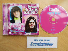 Puppy Love - Donny & Marie Osmond CD - Mint Condition