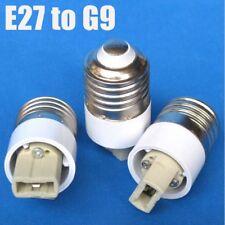Prise Support De Lampe E27 à G9 Adaptateur De Prise Femelle Convertisseur