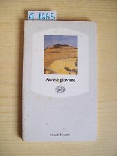 PAVESE GIOVANE - EINAUDI TASCABILI - 1990