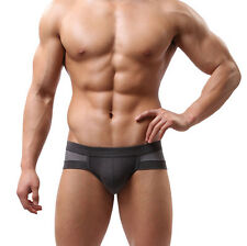 Mens Boys Sexy Cotton Underwear shorts men boxers underpants Soft Briefs 2016