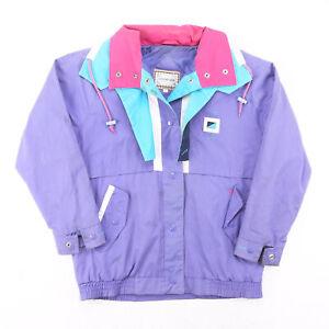 Vintage CURRENT SEEN Purple 90s Regular Casual Outdoor Jacket Womens S