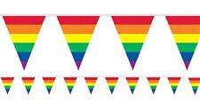 Arcoiris Rayas Fiesta Guirnalda Banderines Decoración Celebración Cumpleaños