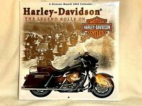 Harley-Davidson 16 Month 2003 Calendar- The Legend Rolls On