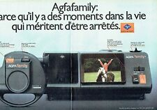 PUBLICITE ADVERTISING 0217  1981  Agfa Family   (2pages)  caméra