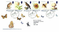 20 JANUARY 1998 ENDANGERED SPECIES ROYAL MAIL FIRST DAY COVER BUREAU SHS