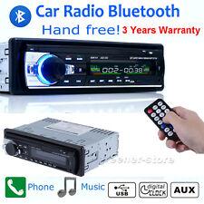 Car Bluetooth Stereo Radio 1 Din Head Unit FM MP3 Audio USB/SD/APE Aux Input 12V
