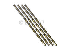 Profesional de 4 piezas 5 mm Hss 4241 Largo Recto Vástago Twist Drill Bits