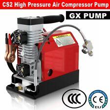 GX PUMP Portable PCP Air Compressor 4500Psi/30Mpa Oil-Free Car 12V / Home 110V