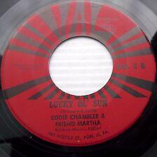 EDDIE CHAMBLEE & friend MARTHA My funny valentine 1965 JAZZ Vocal 45 e5527