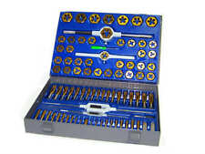New 86pc Tap and Die Combination Set Tungsten Steel Titanium SAE AND METRIC