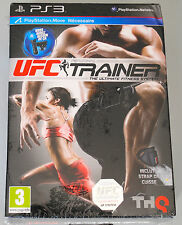 Jeu PERSONAL UFC TRAINER (Fitness) pour PS3 Playstation 3 NEUF + Strap inclus