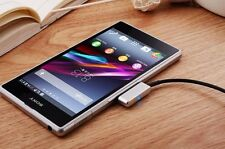 New Sony Metal Magnetic Charging Cable for Xperia Z1 Z1mini Z2 Z3 Z3mini