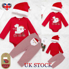 My First Christmas Eve Baby Boy/'s Babygrow Vest Gift 1st xmas box present top