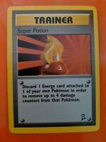 Rare 1st Edition Super Potion Trainer Pokemon Card 117/130 Great Condition