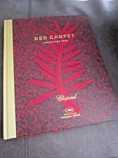 """Chopard """"ALFOMBRA ROJA"""" Colección 60th libro de tapa dura -! impresionante! Festival de Cannes"""