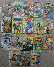 CAPTAIN AMERICA (1968-1996) Marvel Gruenwald Neary #311-320, 322, 324-330 VF