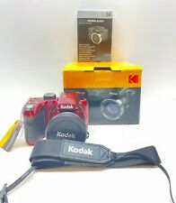 KODAK PIXPRO AZ401 Bridge Digital Camera -16MP 40X Optical Zoom HD720p Video Red
