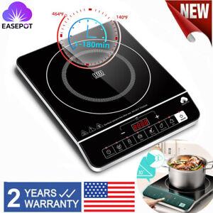 EASEPOT Portable Induction Cooktop 1800W Burner Countertop Cooker Hot Pot Stove
