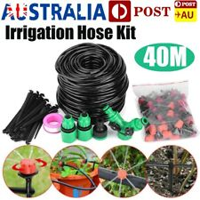 40M Hose Irrigation System Water Timer Auto Sprinkler Plant Watering Garden Kits