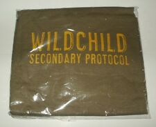 WILDCHILD SECONDARY PROTOCOL STONES THROW T-SHIRT L PRAIRIE DUST NEW & BAGGED