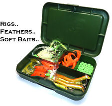Fishing Tackle Accessory Box - Good for Sea Fishing Soft Baits, Feathers, Rigs..
