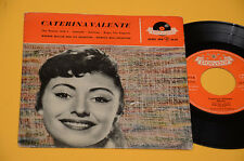 "CATERINA VALENTE 7"" 45 EP 4 CANZONI ORIG GERMANY '60"