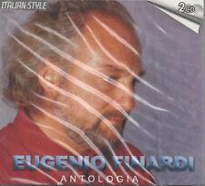Eugenio Finardi Antologia 2 CD NEU Giardini Di Marzo Favola La Forza Dell Amore