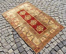 Soft  Color  Anatolian  Full  Pile  Melas  Carpet Rug  41,3'' X 61,4'' Area  Rug