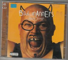 BAD MANNERS - anthology CD
