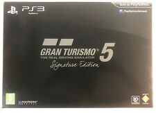 GT5 GRAN TURISMO 5 SIGNATURE LIMITED COLLECTOR'S EDITION SONY PS3 -UFFICIALE ITA