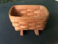 "New listing Vintage Longaberger Mini Rocking Cradle Collector's Basket 1993 Kco 7"" x 5"" X 5"""
