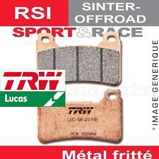 Plaquettes de frein Avant TRW Lucas MCB 669 RSI pour Beta 300 Crosstrainer 15-
