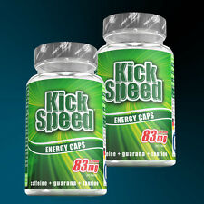 (19,60€/100g) Best Body Nutrition Guarana Kick Speed Energy Caps 2 x 60 Kapseln
