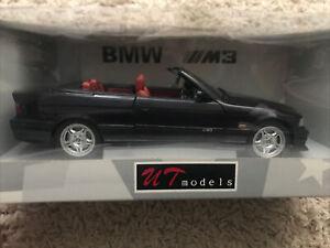1.18 M3 E36 Cabriolet Techno Violet UT Models/AutoArt 180 022330 Boxed VGC