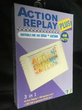 ORIGINALE ACTION REPLAY PLUS 4 Meg e 1meg RAM pacchetto di espansione per Sega Saturn