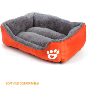 S-3XL Pet Sofa Waterproof Bottom Soft Warm Breathable Bed for Cats Dogs