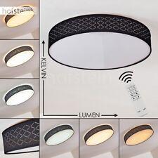 Plafonnier LED Lustre Lampe à suspension ronde Lampe de chambre à coucher noire