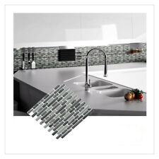 Mosaic Self Adhesive Wall Tile Sticker Vinyl Bathroom Kitchen Home Decor K