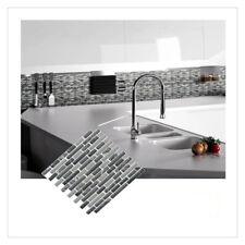 Mosaic Self Adhesive Wall Tile Sticker Vinyl Bathroom Kitchen Home Decor DIY K