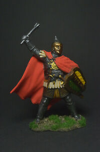 Tin soldier figure Noble Russian warrior, 14th century 54 mm