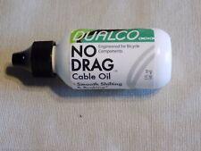 Dualco No Drag Cable Oil 2 oz - See the Reviews in Description! Amazing stuff!