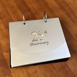 25th Anniversary Photo Album - Silvertone