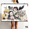 Hot Anime Demon Slayer: Kimetsu no Yaiba Wall Scroll Poster Home Decor Otaku #12