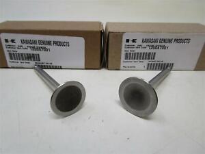 Kawasaki  Exhaust Valves 12005-7001 & Intake 12004-7001 FH451V FH500V Genuine