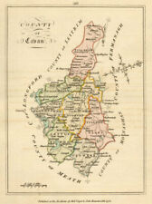 County of Cavan, Ulster. Antique copperplate map by Scalé / Sayer 1776 old