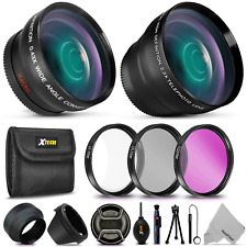 Essential 58mm Accessory Kit for CANON EOS 80D, 70D, EOS 60D 5D, EOS Rebel T5i,
