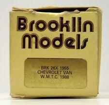BROOKLIN 1955 CHEVROLET VAN  BRK. 26 X  ( EMPTY BOX ONLY )